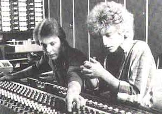Eric Greif - Image: Eric Greif at right, '85