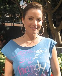alt=Description de l'image Erica Durance.jpg.