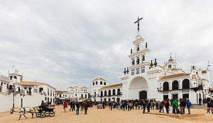 Almonte, Spain - Church of El Rocio