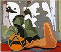 Ernst Ludwig Kirchner - Stillleben mit Plastik vor dem Fenster 1933-35.jpg