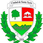 Official seal of Santa Tecla