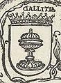 Escudo da Galiza na árvore genealógica da Casa de Carlos V de Robert Peril (1533-1535).jpg