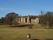 Eshton Hall, a stately home now converted into apartments