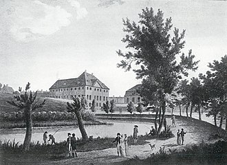 Esplanaden, Copenhagen - Esplanaden in 1790