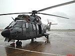 Esquadrilha da Fumaça 60 anos - Pirassununga - Helicóptero EC725 utilizado pelas Forças Armadas brasileiras. Está previsto a entrega de 50 helicópteros deste modelo para as três Forças (Exército - panoramio.jpg