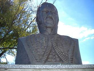 Estanislao López - A bust of Estanislao López in Rosario