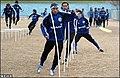 Esteghlal FC in training, 2 January 2005 - 01.jpg
