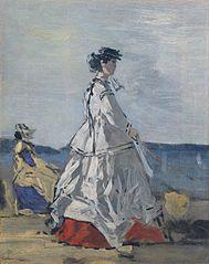 Princess Pauline Metternich (1836–1921) on the Beach