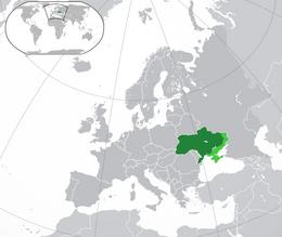 Ucraina - Localizzazione