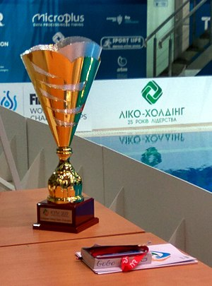 European Diving Championships - Trophy for the European Diving Champion