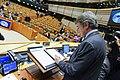 European Parliament President David Sassoli signs the UK Withdrawal Agreement. (49461241336).jpg