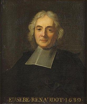 Eusèbe Renaudot - Eusèbe Renaudot (1689)