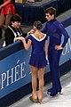 Eva Horklová Klara Kadlecova Petr Bidar 2010 Trophée Eric Bompard.JPG