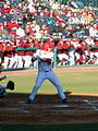 Evansville at Arkansas baseball, 2013 001.jpg