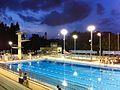 Evening 維多利亞公園游泳池 Victoria Park Swimming Pool CWB HK 02-Spet-2013.jpg