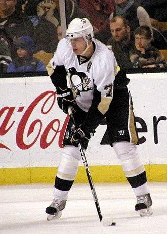 Evgeni Malkin - During his sophomore season (2007–08 season), Malkin scored 106 points, the second-highest amongst NHL players that season.