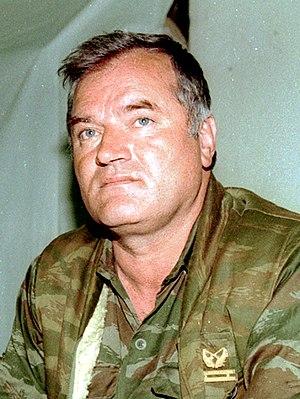 Ratko Mladić - Mladić in Sarajevo in 1993