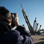 Expedition 43 Soyuz Rollout (201503250007HQ).jpg