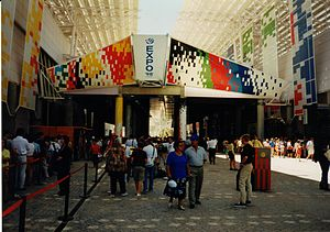 Expo '98 - Two pavilions on the Expo '98, now hosting the Feira Internacional de Lisboa