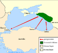 Expulsion map of the Circassians in 19th century.PNG