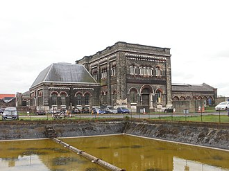 Crossness Pumping Station - Western exterior of the Crossness Pumping Station