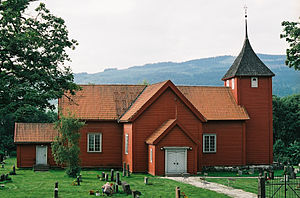 Fåberg - Fåberg Church in Lillehammer