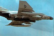 F-4D 13th TFS 432nd TRW with Pave Sword laser 1971