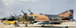 Ching Chuan Kang Air Base - Image: F 4c 64 0750 44tfs 18tffw atcck 2oct 73