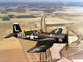 F4U-4 Corsair of NARTU Los Alamitos in flight c1950.jpg