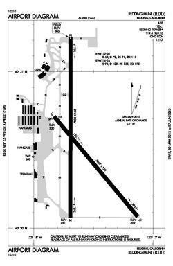 Redding Municipal Airport  Wikipedia