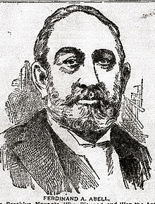 A black-and-white drawing of a bearded man