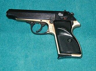 Irish National Liberation Army - A FEG PA-63 the type of gun used to kill Wright