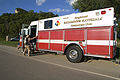 FEMA - 31890 - Fireman in hazmat suite getting in truck in Wisconsin.jpg