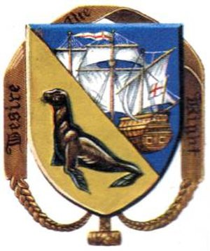 Coat of arms of the Falkland Islands - Image: FIDF Badge