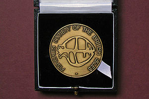 FSBI Medal - The FSBI Medal is cast in bronze by Spink of London