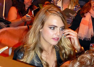 Cara Delevingne - Cara Delevingne at the 2014 Toronto International Film Festival for the premiere of The Face of an Angel