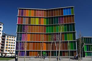 Museo de Arte Contemporáneo de Castilla y León - Image: Fachada Musac