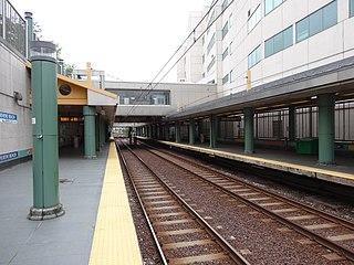 Revere Beach station Boston MBTA subway station