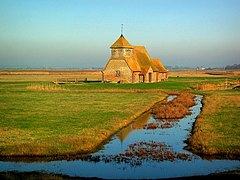 Fairfield Church, Romney Marsh - geograph.org.uk - 228870.jpg