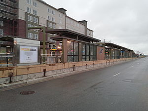 Fairview Avenue (Metro Transit station) - Fairview Avenue in 2014