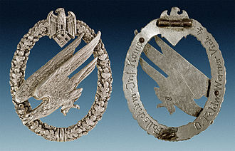Fallschirmjäger (World War II) - Image: Fallschirmschützenab zeichen des Heeres