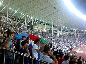 Tofiq Bahramov Republican Stadium - Image: Fans of Karabakh FK