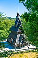 Fantoft Stave Church view from Top.jpg