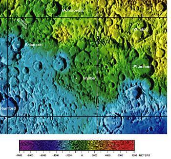 沃克陨石坑