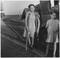 Farm Security Administration, children of Oklahoma drought refugees near Bakersfield, California - NARA - 195569.tif
