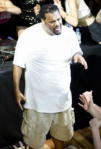 Fatman Scoop - Fatman Scoop performing in October 2011.