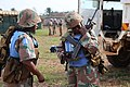 Female combat troops of South African Contingent in MONUSCO on robust foot and moblile patrols 20.jpg