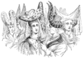 Female head dresses of the fifteenth century styled au hennin.png
