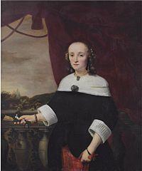 Portrait of Anna Maria van Nutt