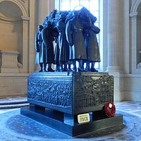 Ferdinand Foch's tomb at Les Invalides, July 28, 2013.jpg